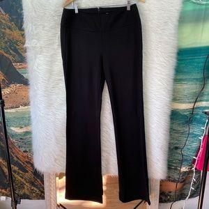 Cabi black trousers back zipper sz 10 long